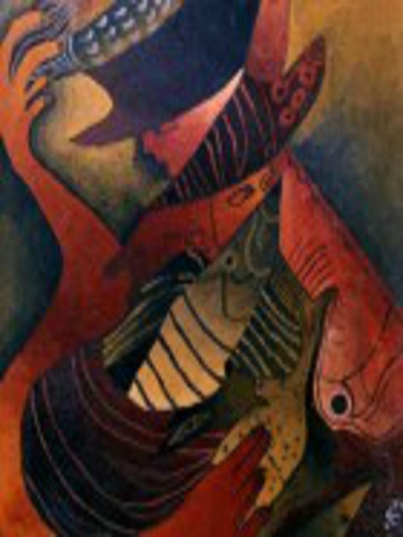"""EL PESCADOR"" (2002) - Silvina Ramadori"