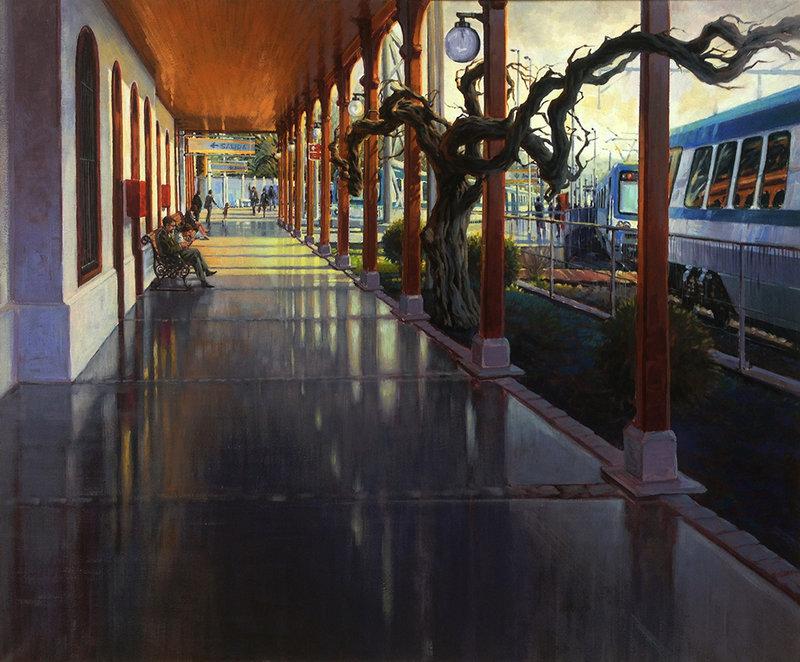 Estación de Limache (2016) - Edgardo Contreras de la Cruz