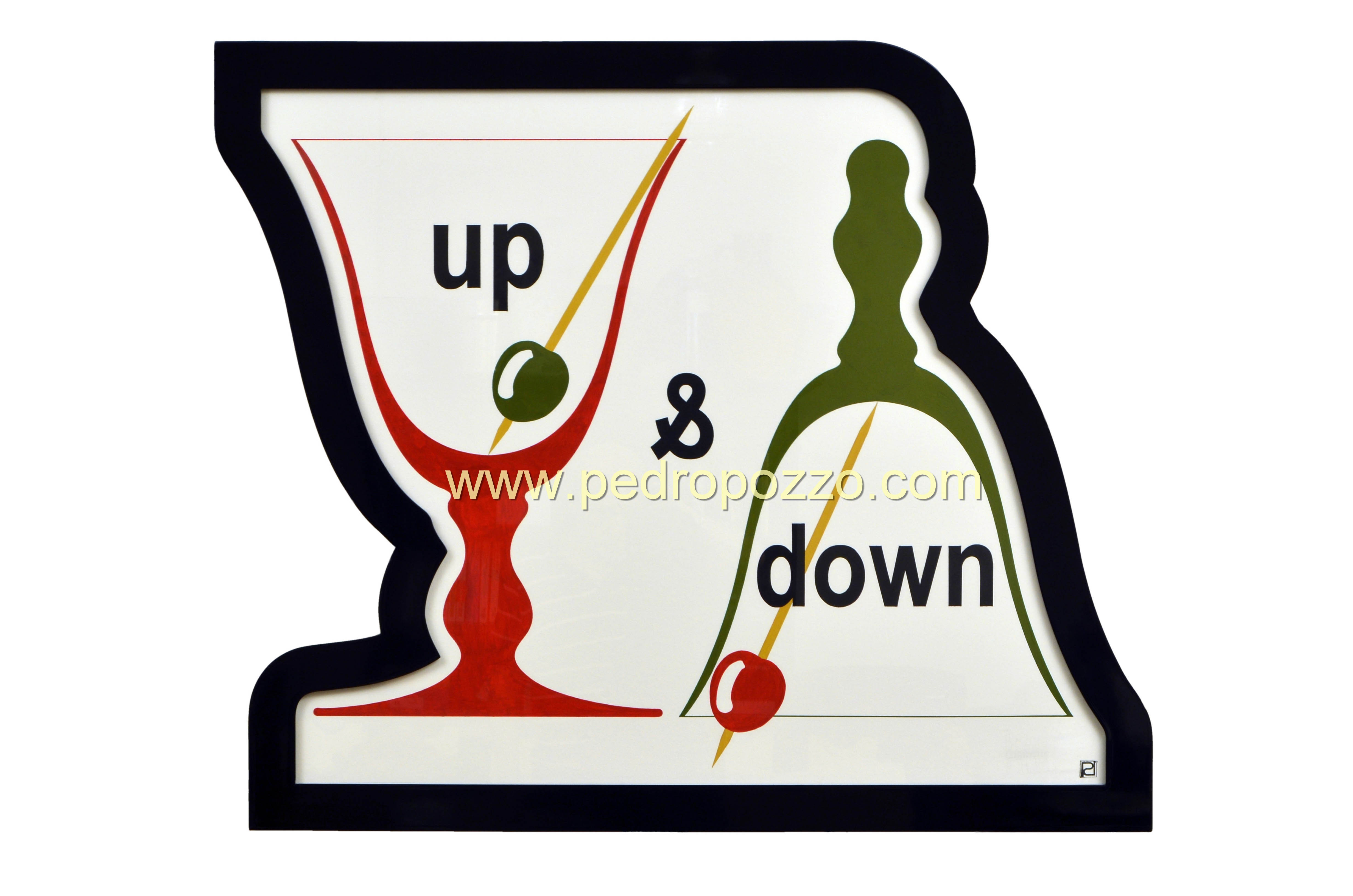 Up & down / Olive & cherry / Cup & bell (2017) - Pedro Pozzo