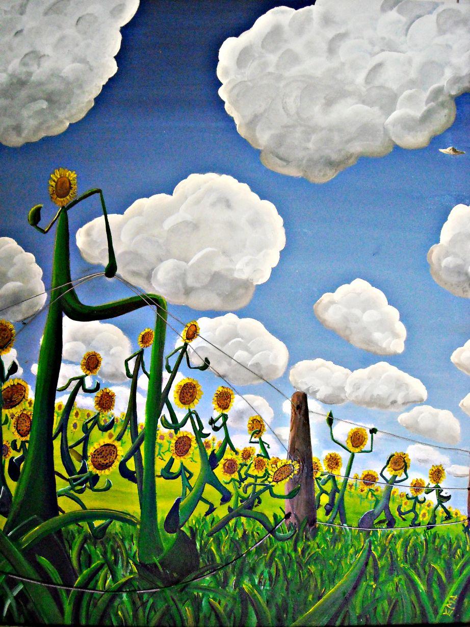 Girasoles en fuga (2014) - Emmanuel Giralt - EMA