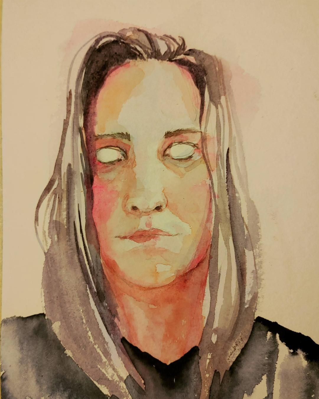 Autorretrato (2019) - Alejandra Römer - Un gato electrónico