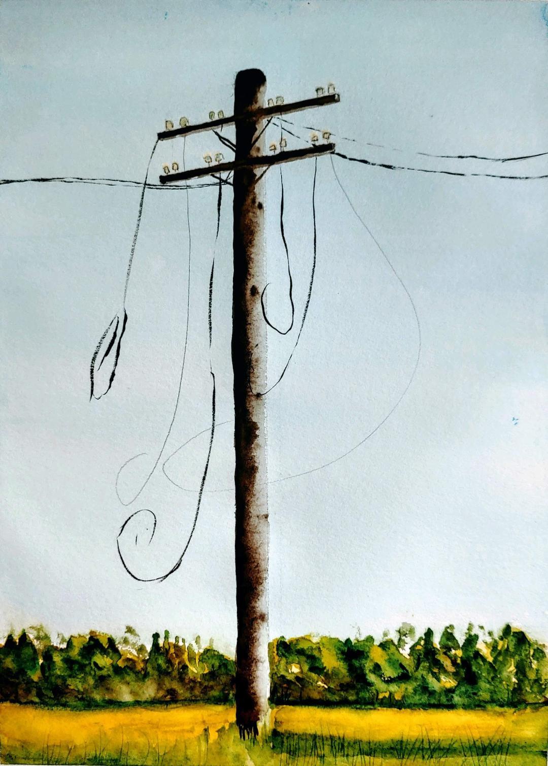 Cables Cortados (2019) - Alejandra Römer - Un gato electrónico
