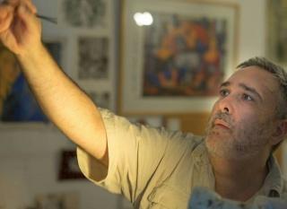 Alfredo Roldán, pintor.