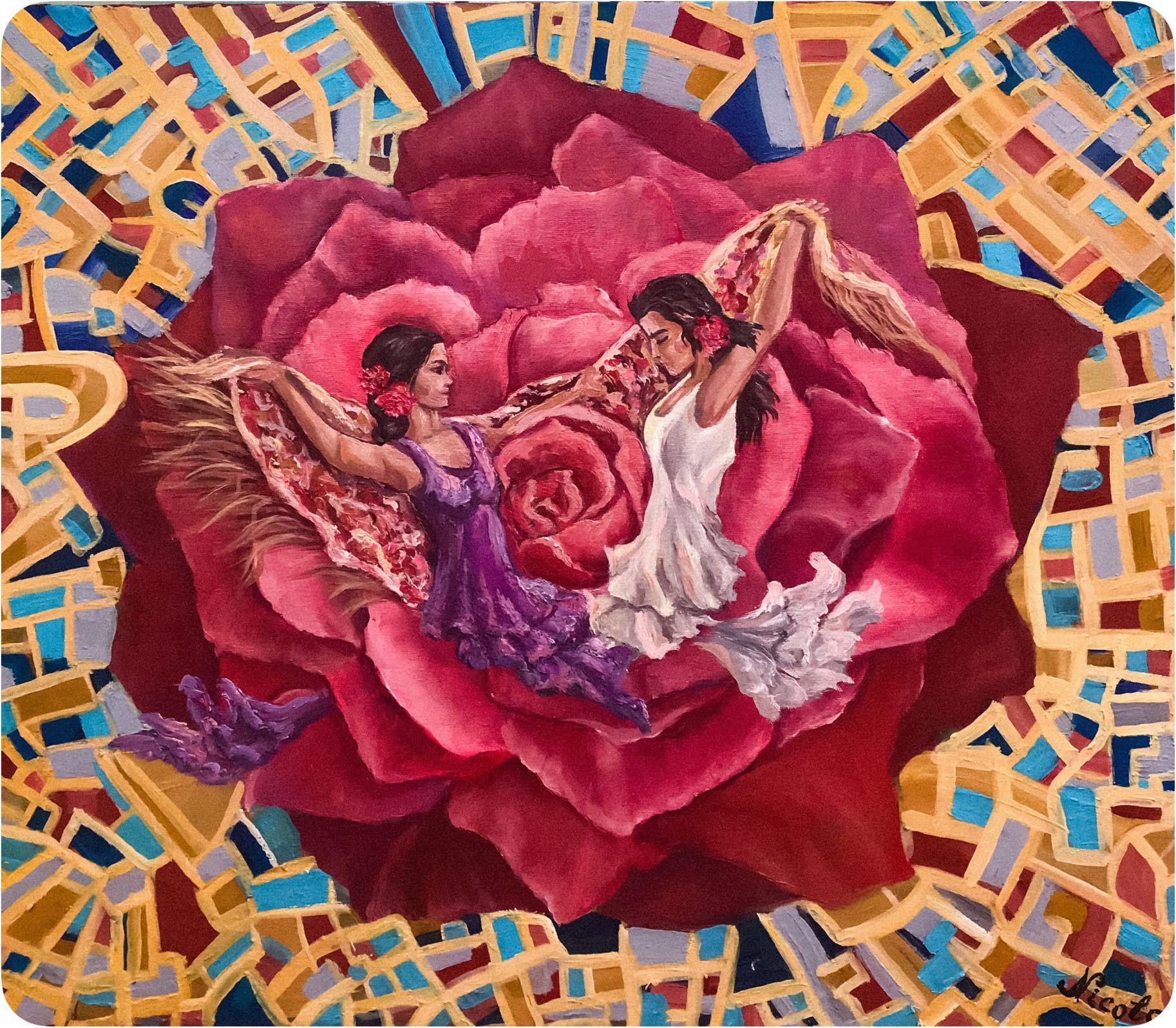 """""""Flamenco, Passion y coraje"""" (2019) - Pintor Nicolas"""