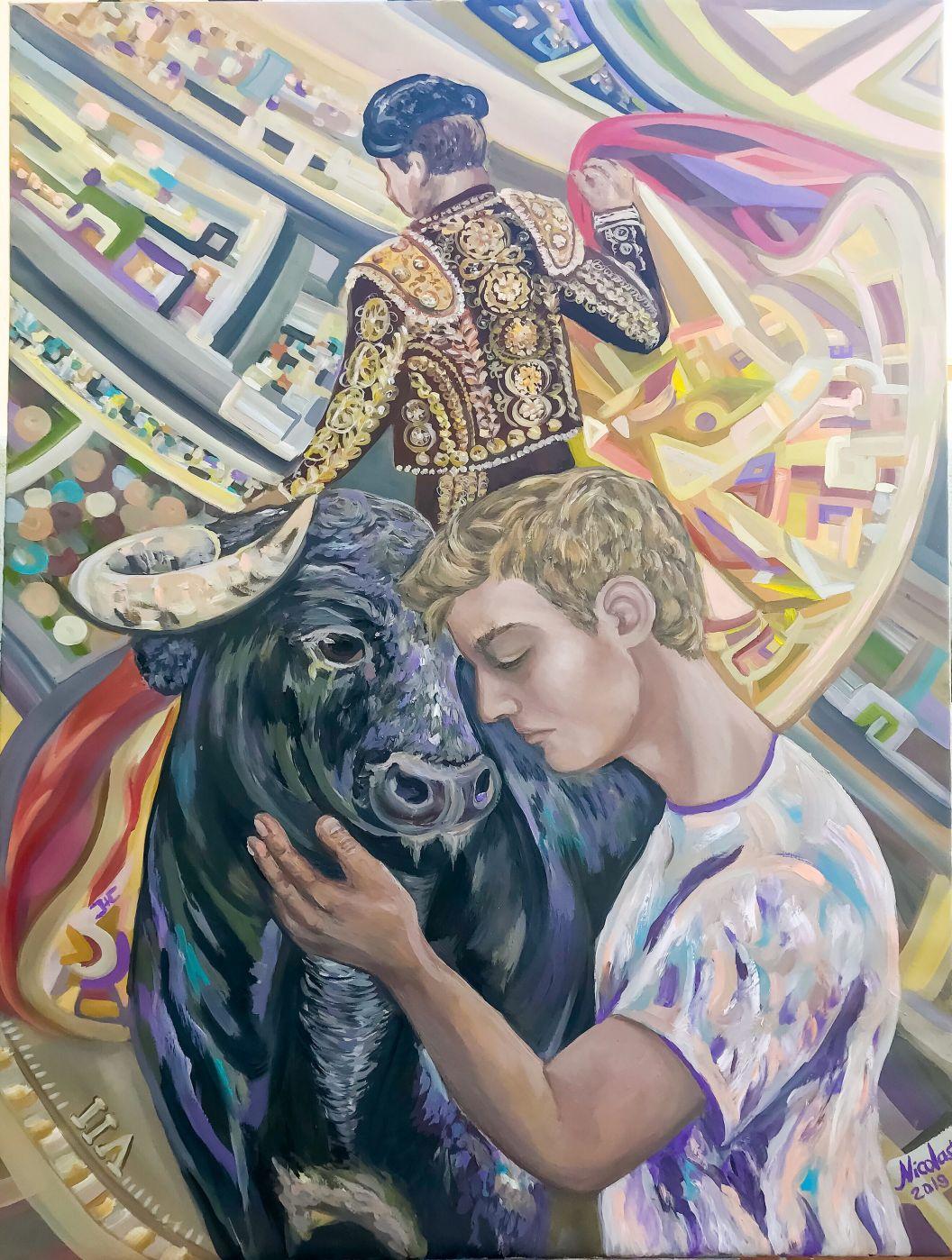 """""""El Beso de Judas"""" (2019) - Pintor Nicolas"""