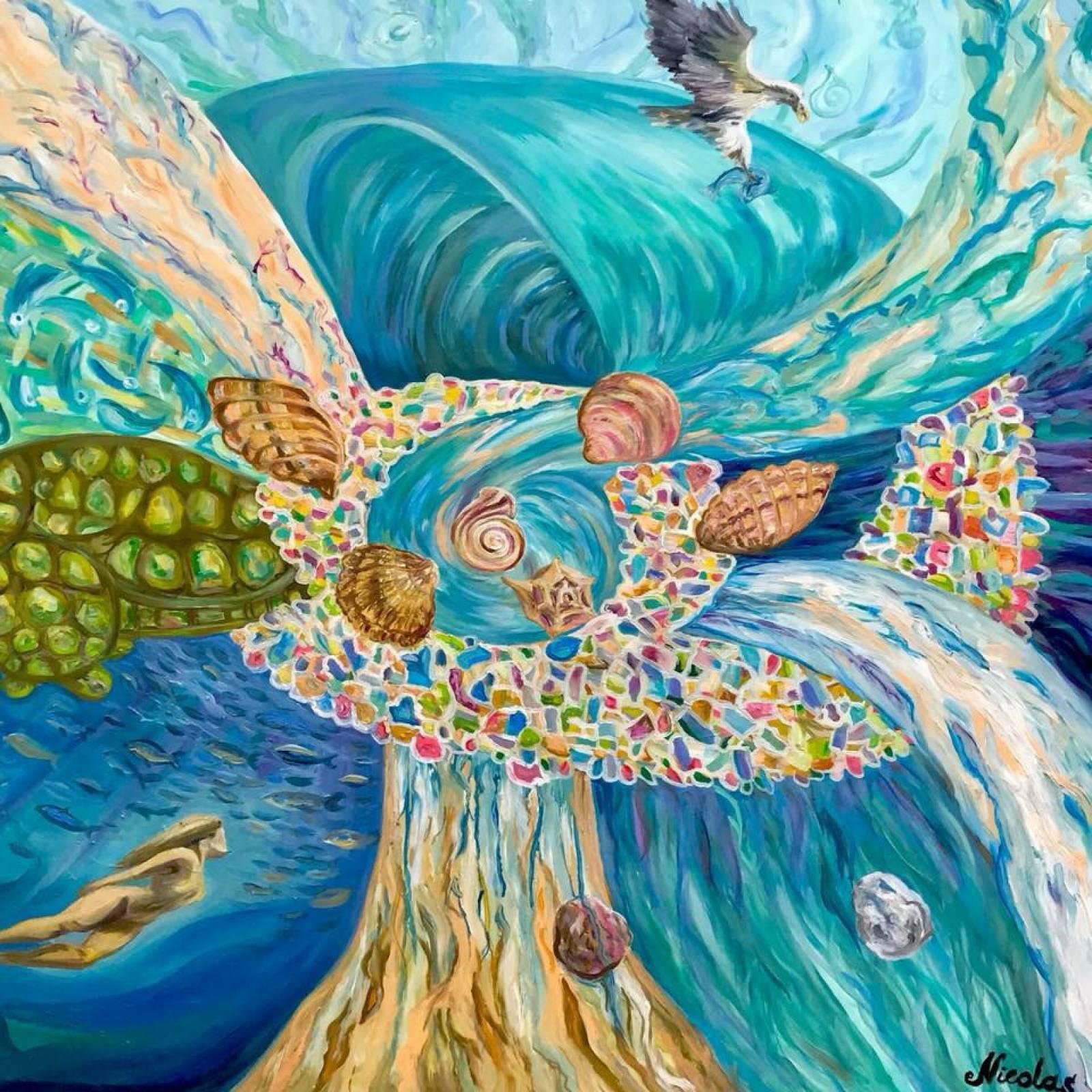 """""""Fuerza Mediterránea"""" (2016) - Pintor Nicolas"""