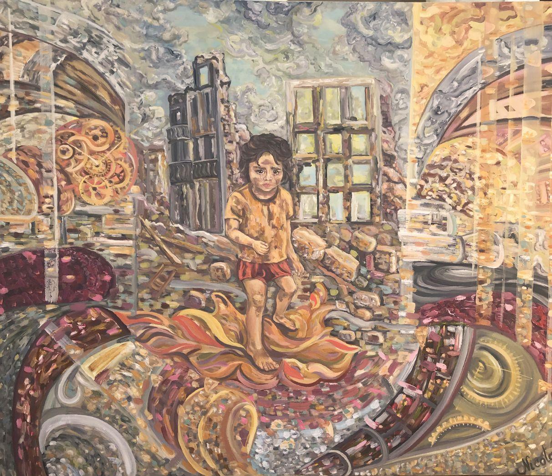 La infancia perdida (2019) - Pintor Nicolas