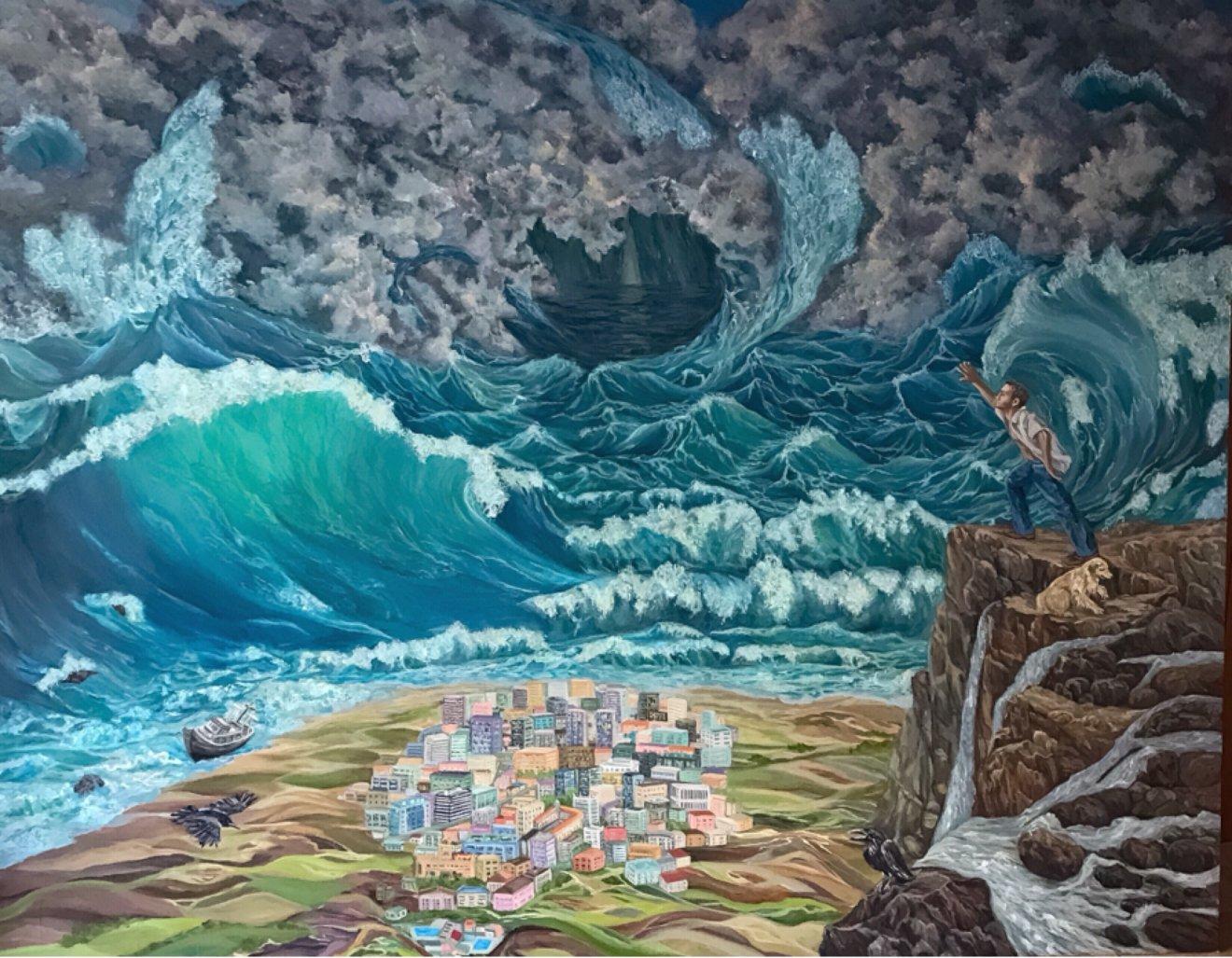 """Tsunami (ultimátum) (2019) - Pintor Nicolas"