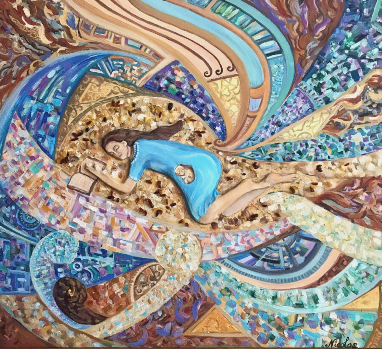 """Dulce Esperanza"" (2019) - Pintor Nicolas"