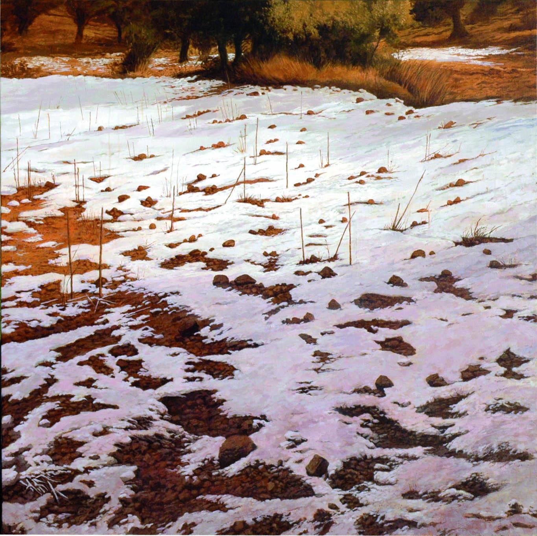 Nieve cerca de Alquezar (2013) - Carlos Castillo Seas