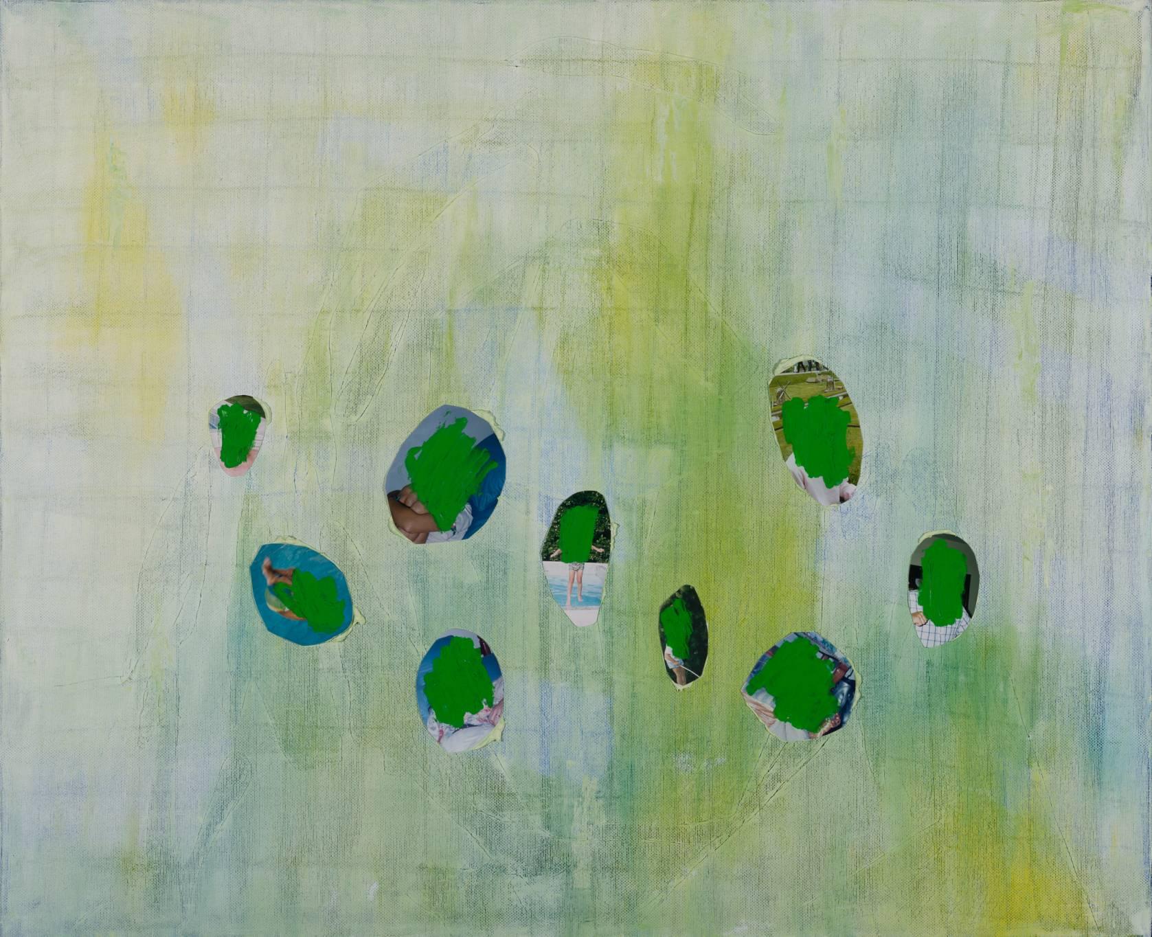 Bleu (When History Obsesses) (2015) - by Ohne Titel (Florence Drake Del Castillo)