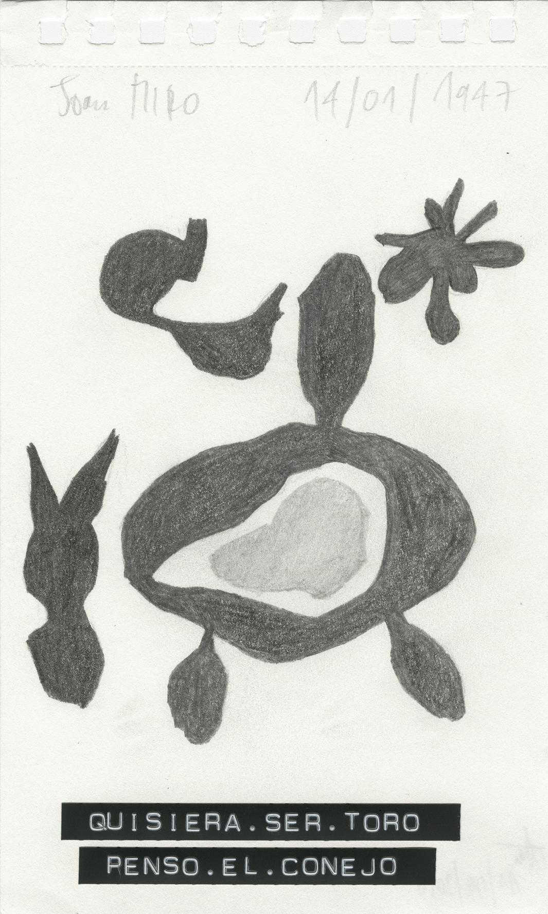 Quisiera ser Toro Pensó el Conejo (titleS) (2010) - by Ohne Titel (Florence Drake Del Castillo)