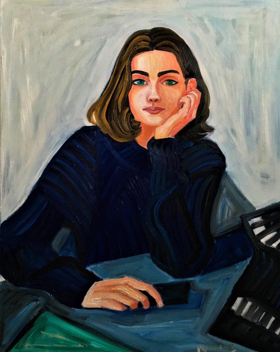 Portrait d'Emilie (2019) - Walter Alberto Mamani Nina - Walter Mamani