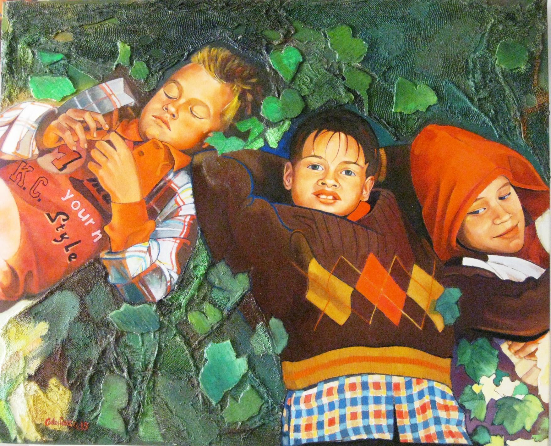 niños en el jardin (2016) - Carles Roca Gil