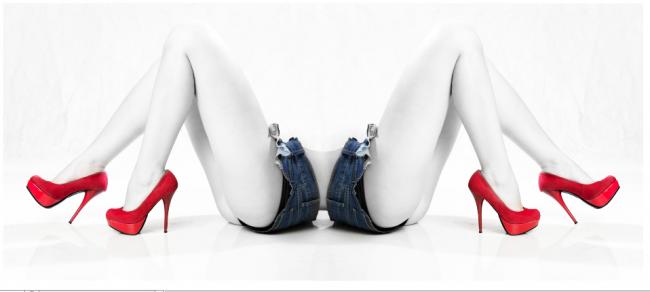 Jeans y tacones