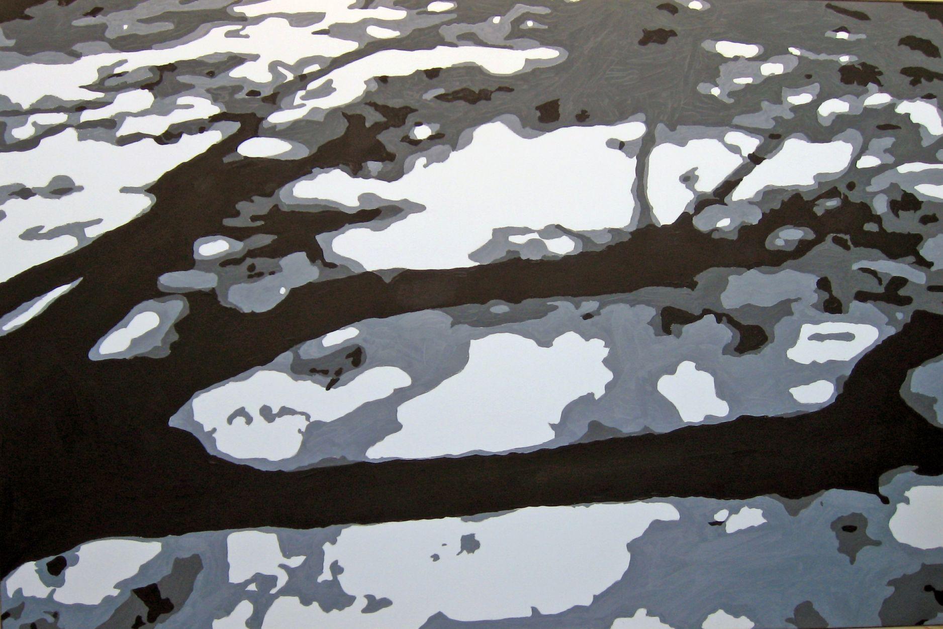 Sombras en el parque I (2008) - Cecilia de Lassaletta
