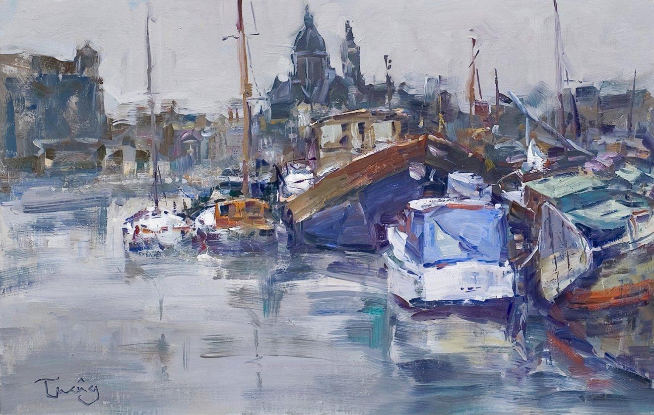 Amsterdam, puerto (2017) - Josep Cruañas