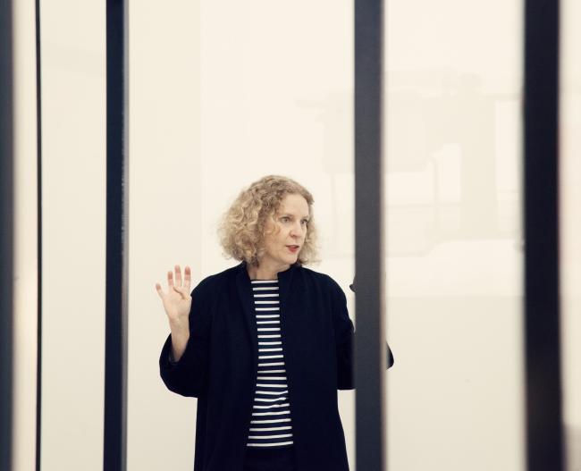 María Acaso, Jefa del Área de Educación del Museo Nacional Centro de Arte Reina Sofía. Foto de Elena de la Puente (delapuentefotoespacio.com)