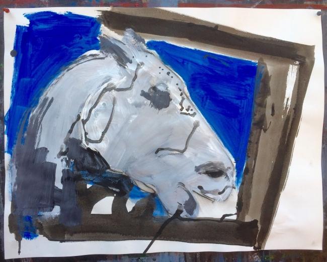 El caballo de Atenas.