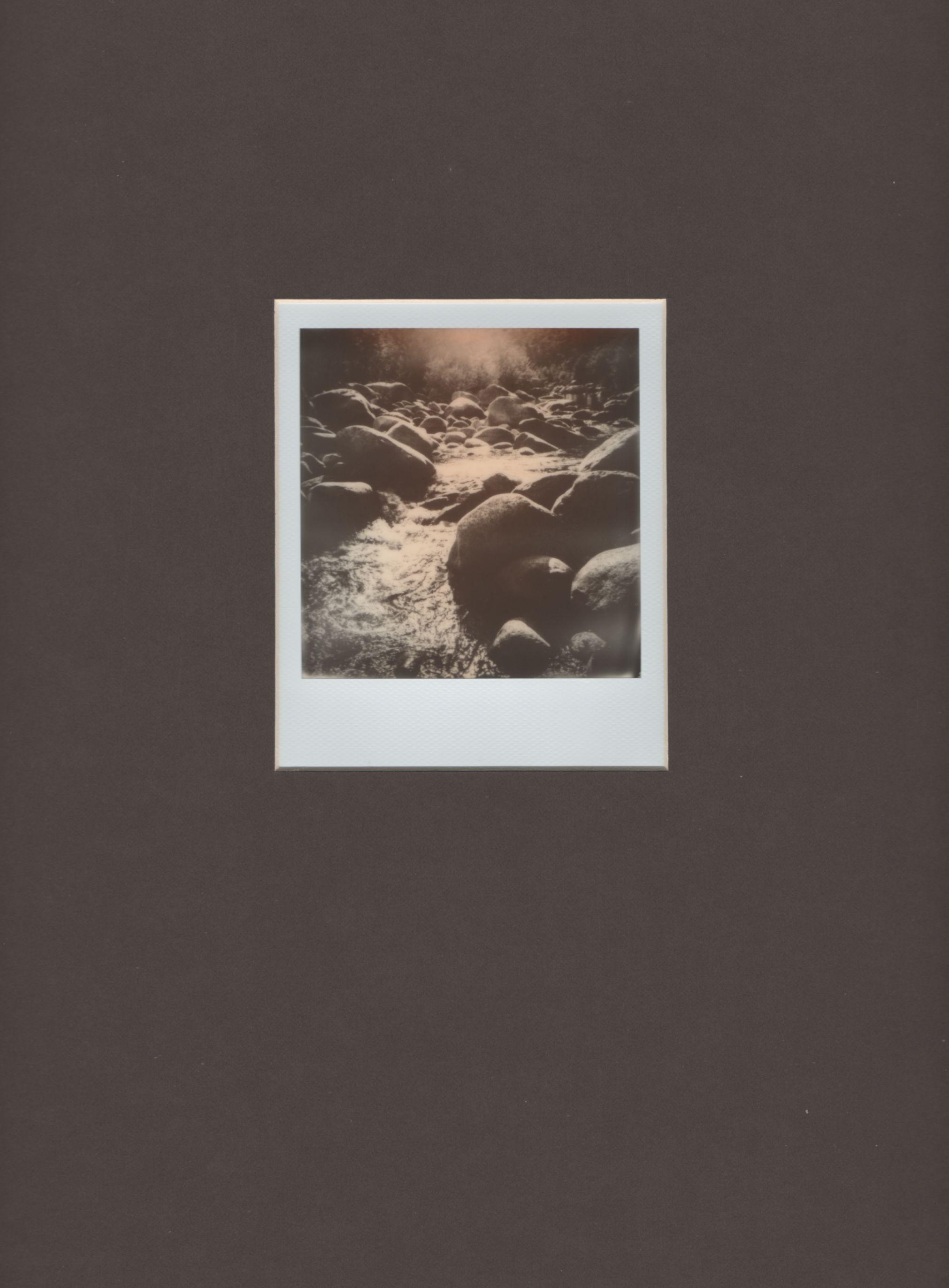 Córcega vista desde una cámara Polaroid (2015) - Francesc Mas Solé