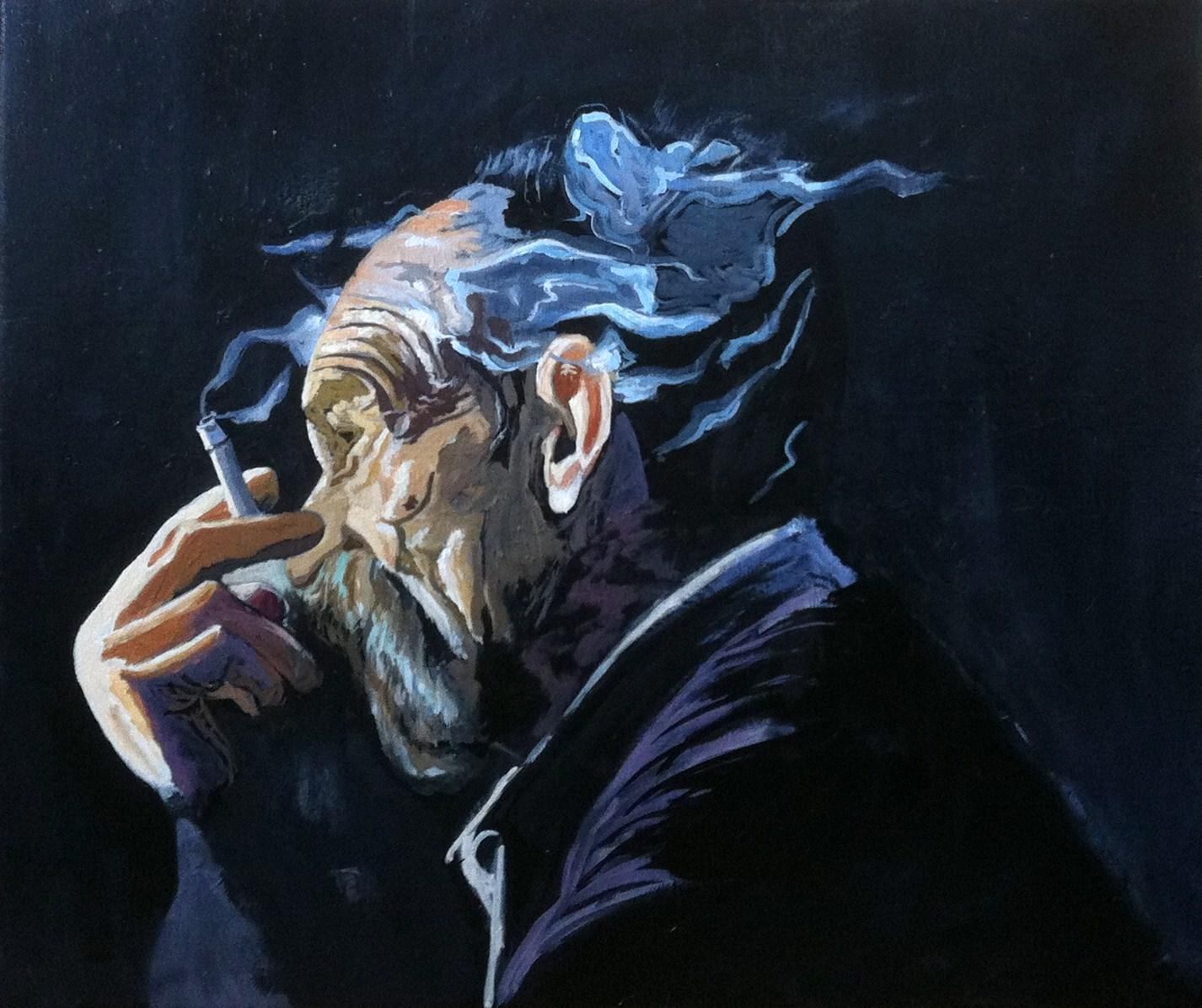 fumando al sol (2013) - Carlos Congregado López