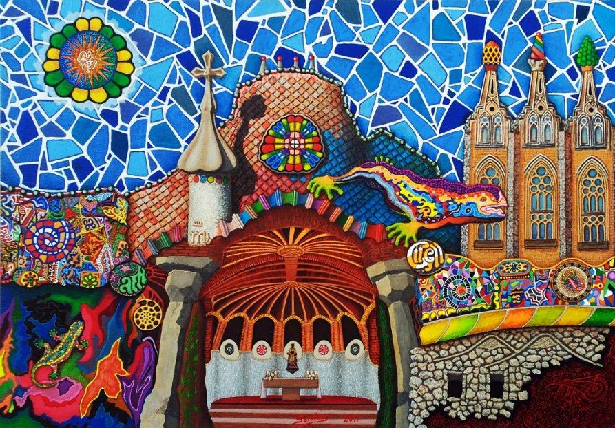 Gaudí - Mi composición