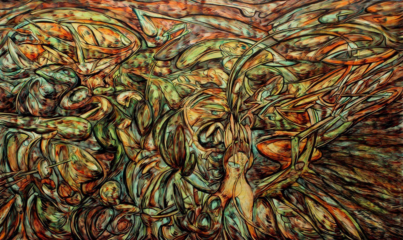Pintura n°8 (2019) - Alejandro Mendez