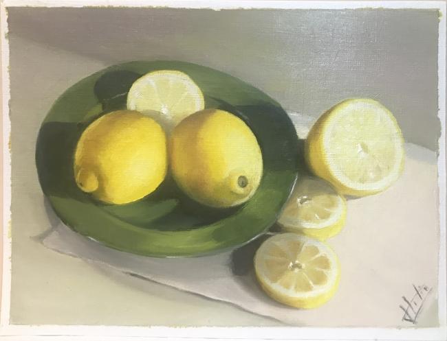 limones (2020) - Lidia Escabias Santamarta