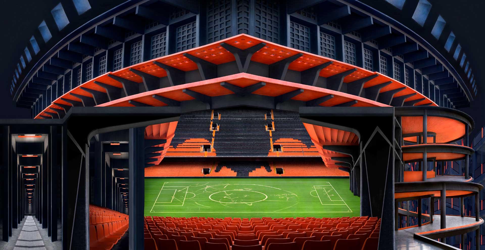 Estadio per Salvador Pascual (2017) - Antonio Girbés