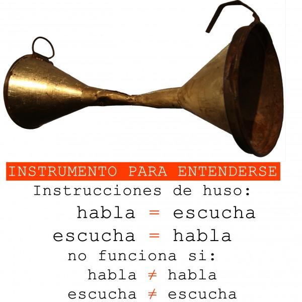 Instrumento para entenderse