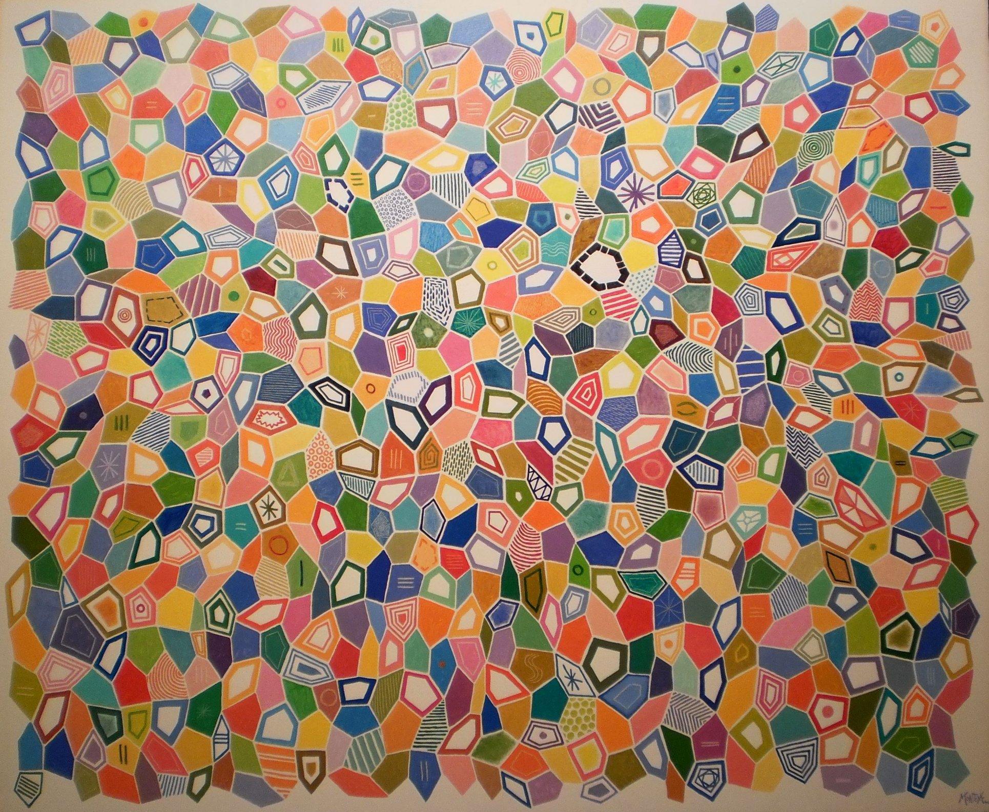 Color poligonal