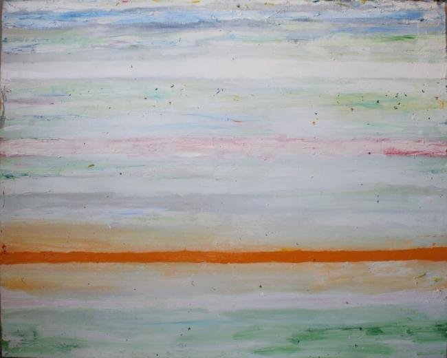 """""""Paisaje"""". 2018. Oleo sobre tela. 130 x 162 cm."""