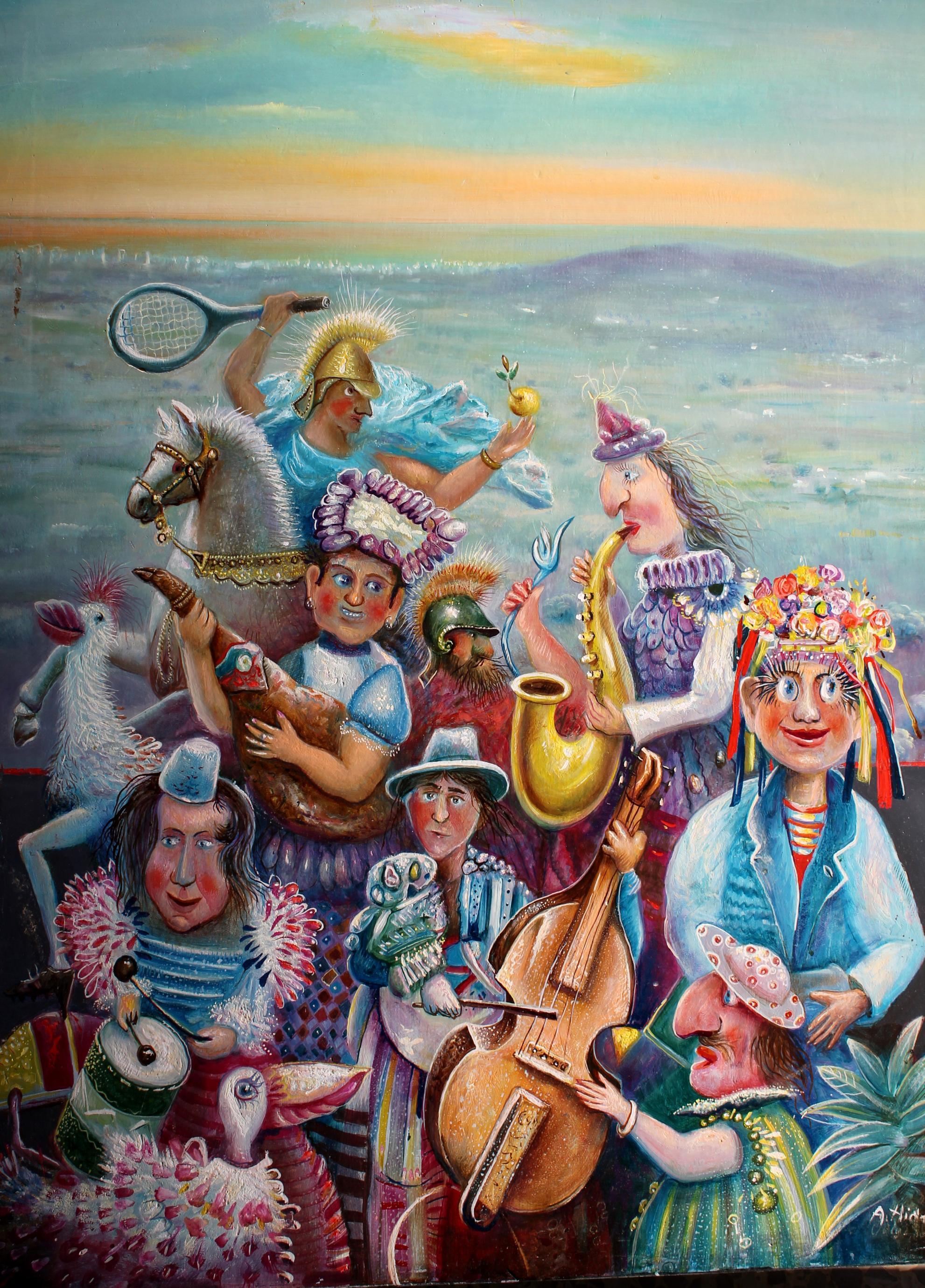 la fiesta de los amigos (2012) - Antonio Hidalgo - A. Hidalgo