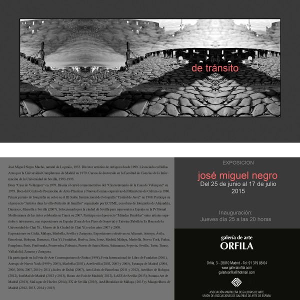 Exposición en galería Orfila. 2015