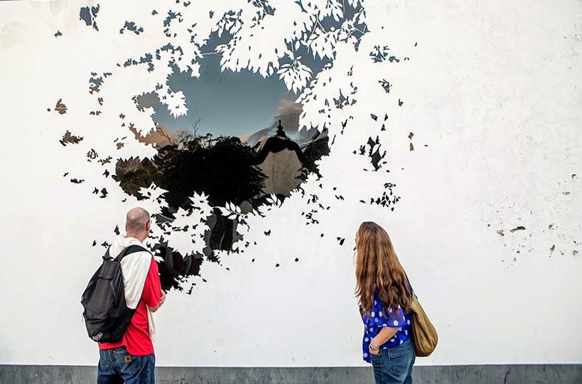 Vista sobre o arvoredo (2014) - Jorge Santos