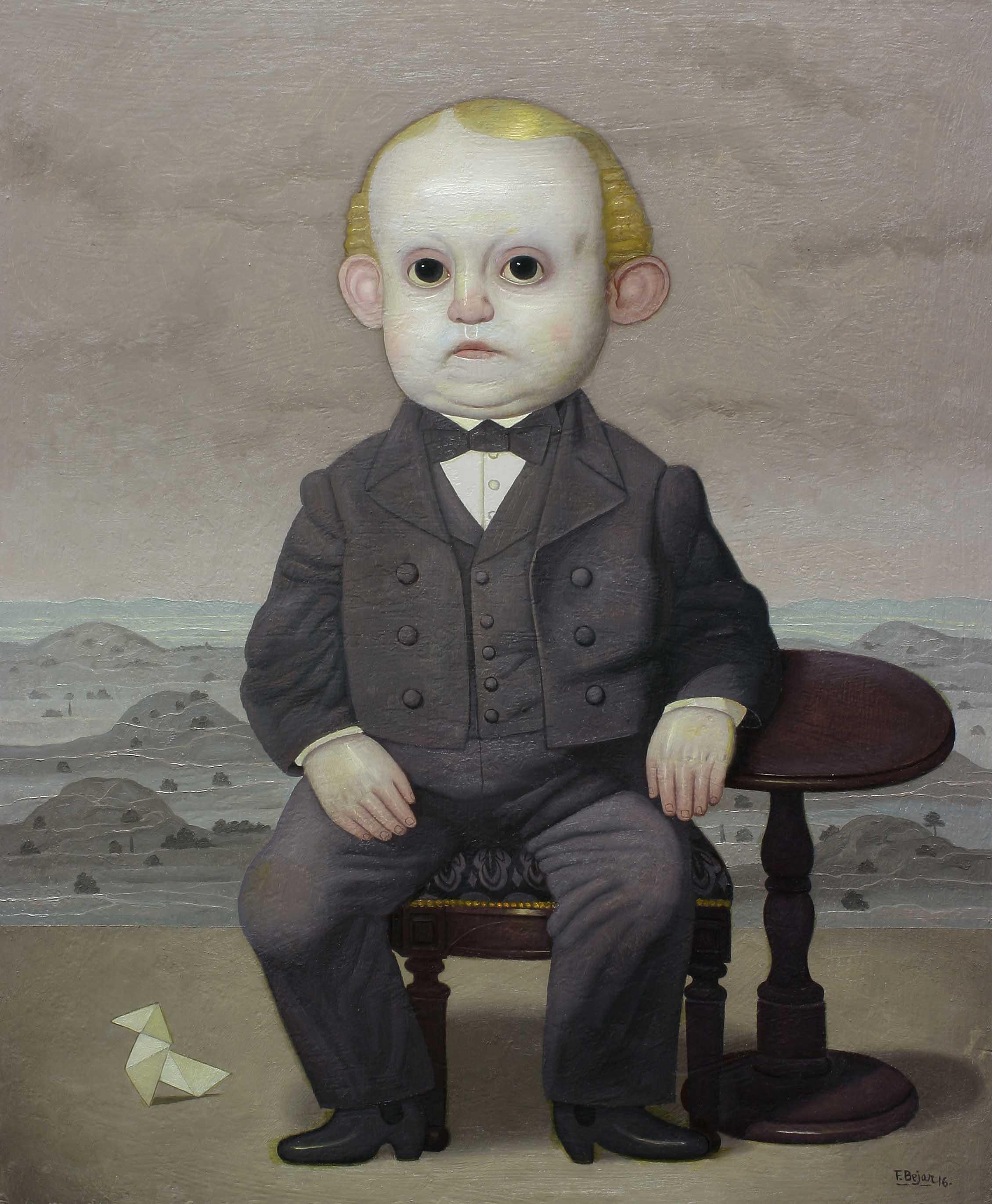 Paisaje con figura (2016) - Juan Béjar