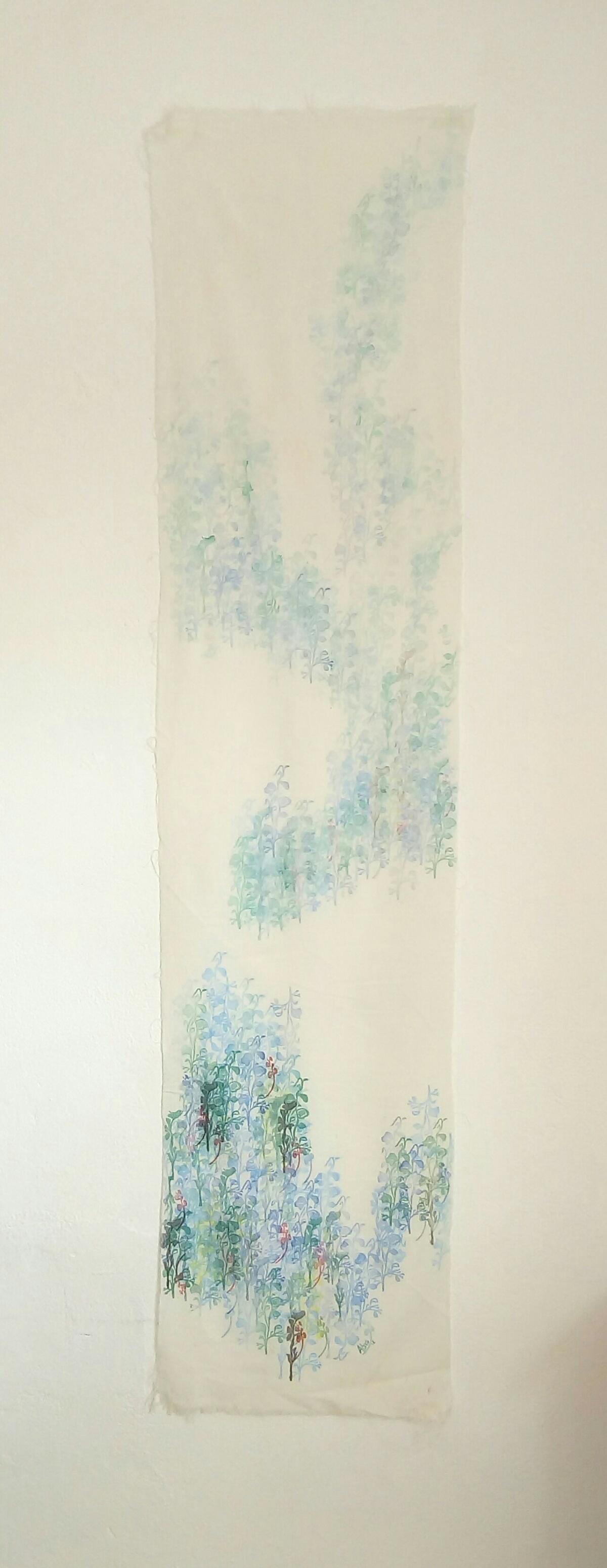 """Recorrido. De la serie """"Los trayectos del paisaje"""" (2018) - Anabela Bres"""