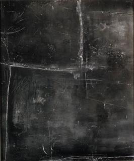 Cuadro gris, 1957. Cortesía de Fundación Juan March