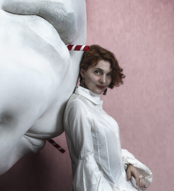 Retrato de Claire Becker por Armando Gonzalez