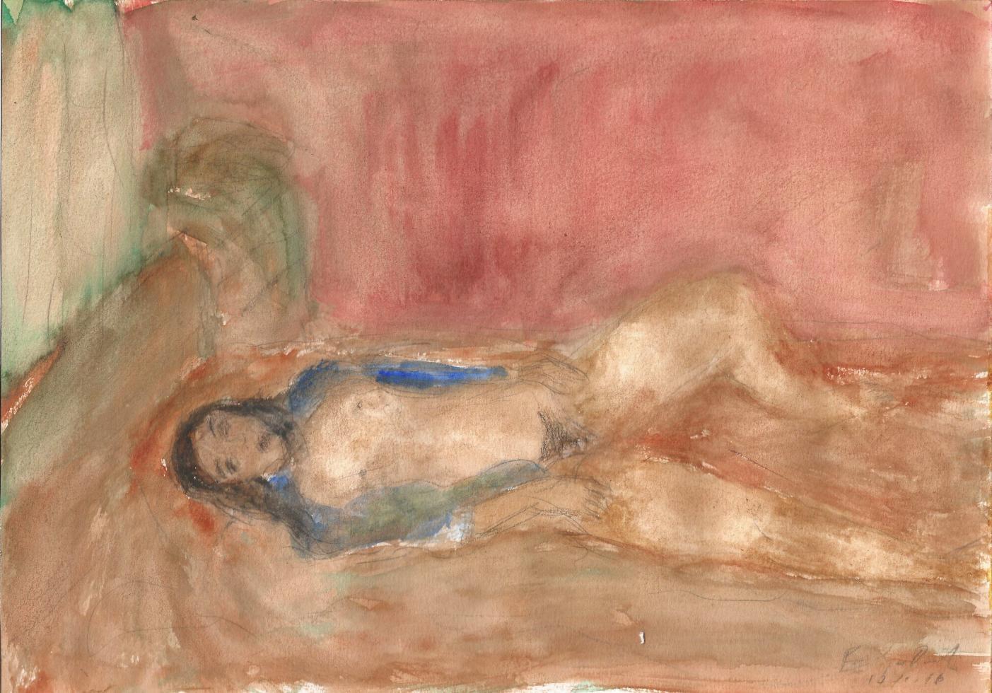 Joven en la cama (2016) - Iván Fernández-Dávila