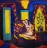 Retrato en el Hotel Melgar - óleo sobre lienzo - 200 x 190 cm - 2014