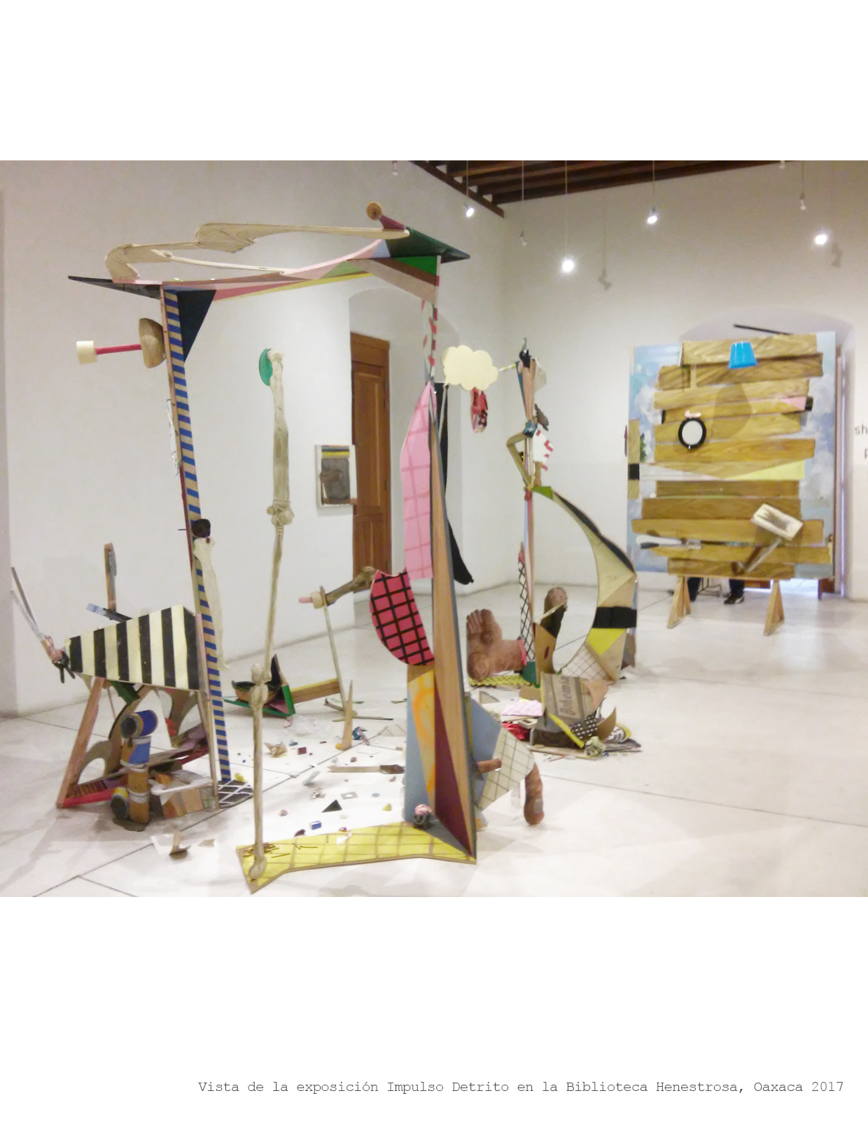 impulso detrito (2017) - Luis Hampshire