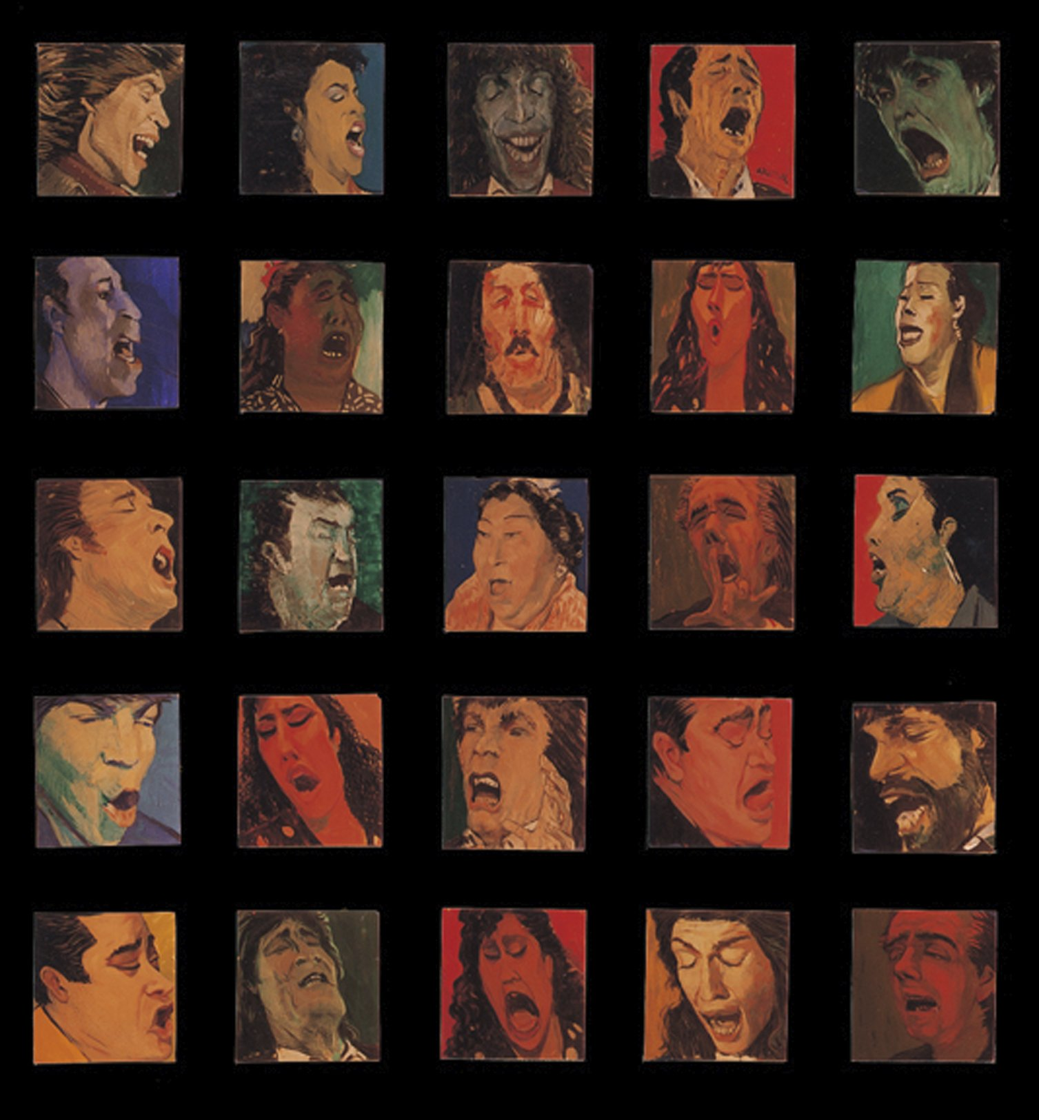 Políptico del Quejío (1992) - Ángel Baltasar