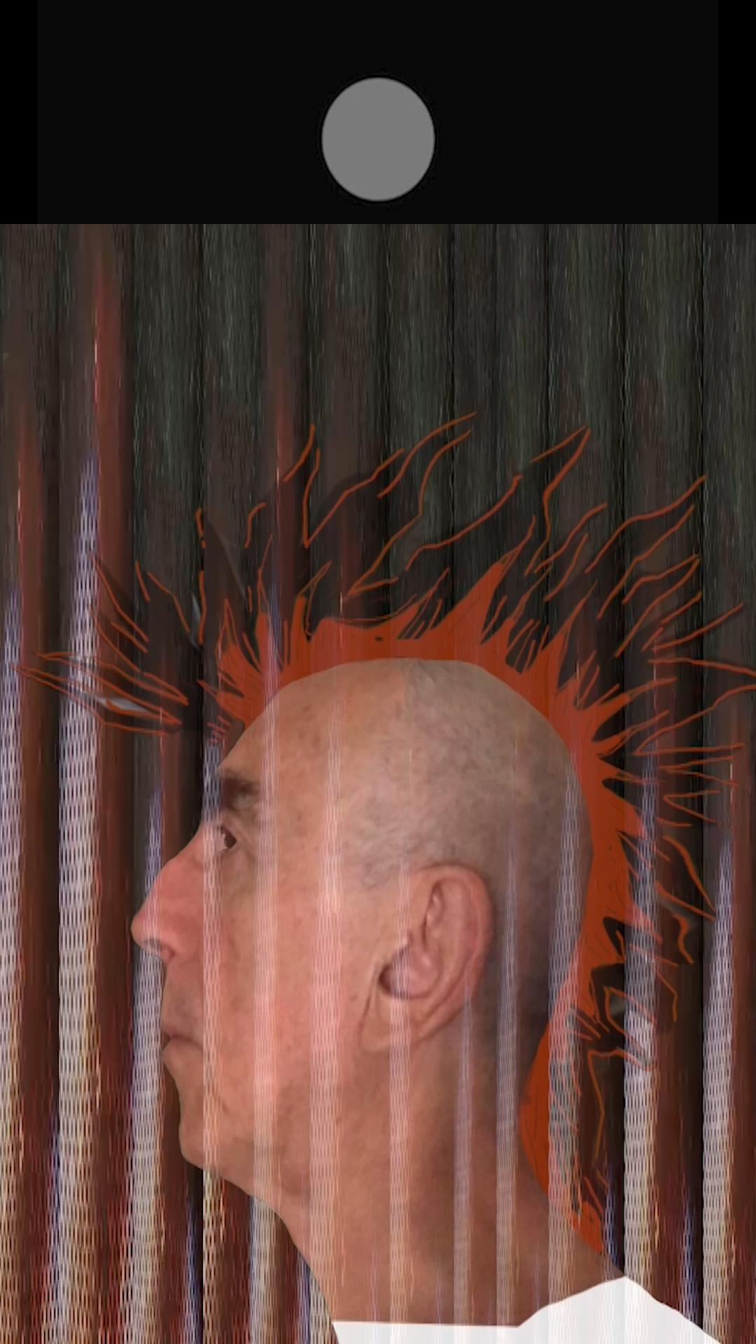 Retrato vulcanpunk de mi amigo Jotta (2021) - Ángel Baltasar