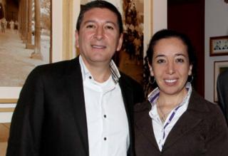 Juan Carlos Pachón y Linda Delgado