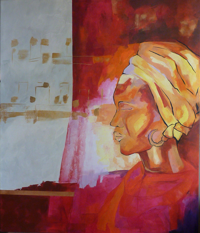 Rostro de una mirada olvidada (2011) - Claudia Penrroz