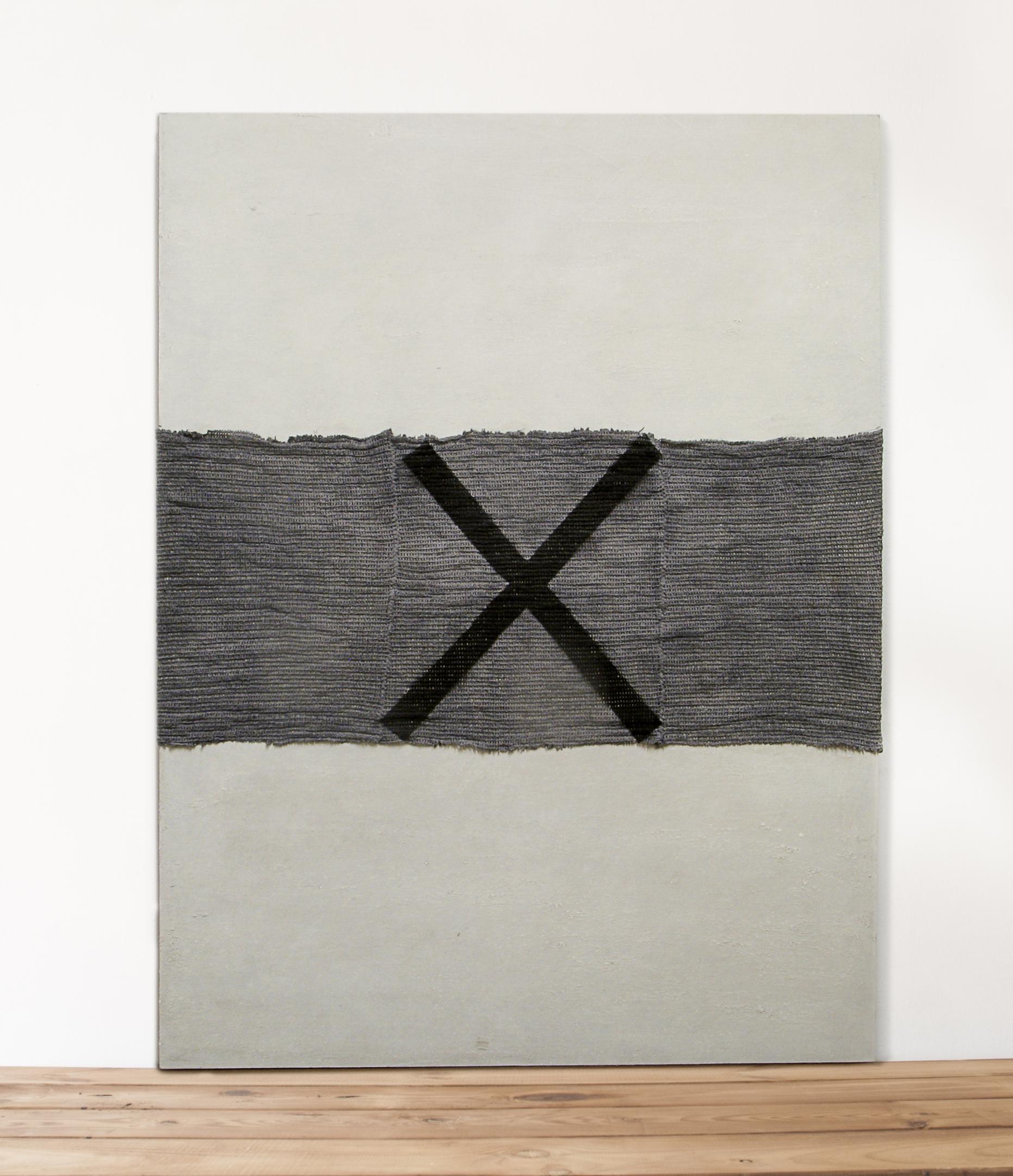 Franja de drap amb creu (2016) - Gabi Beneyto