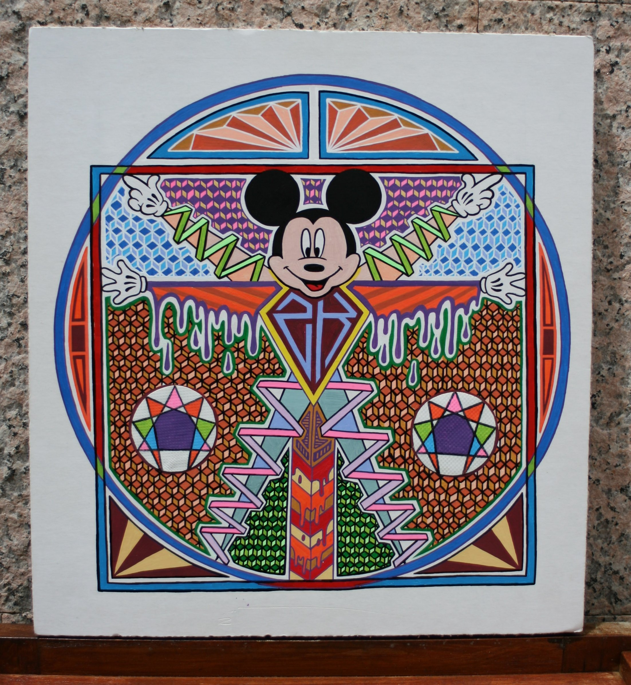 Mickey de Danubio (2015) - ZOK ART