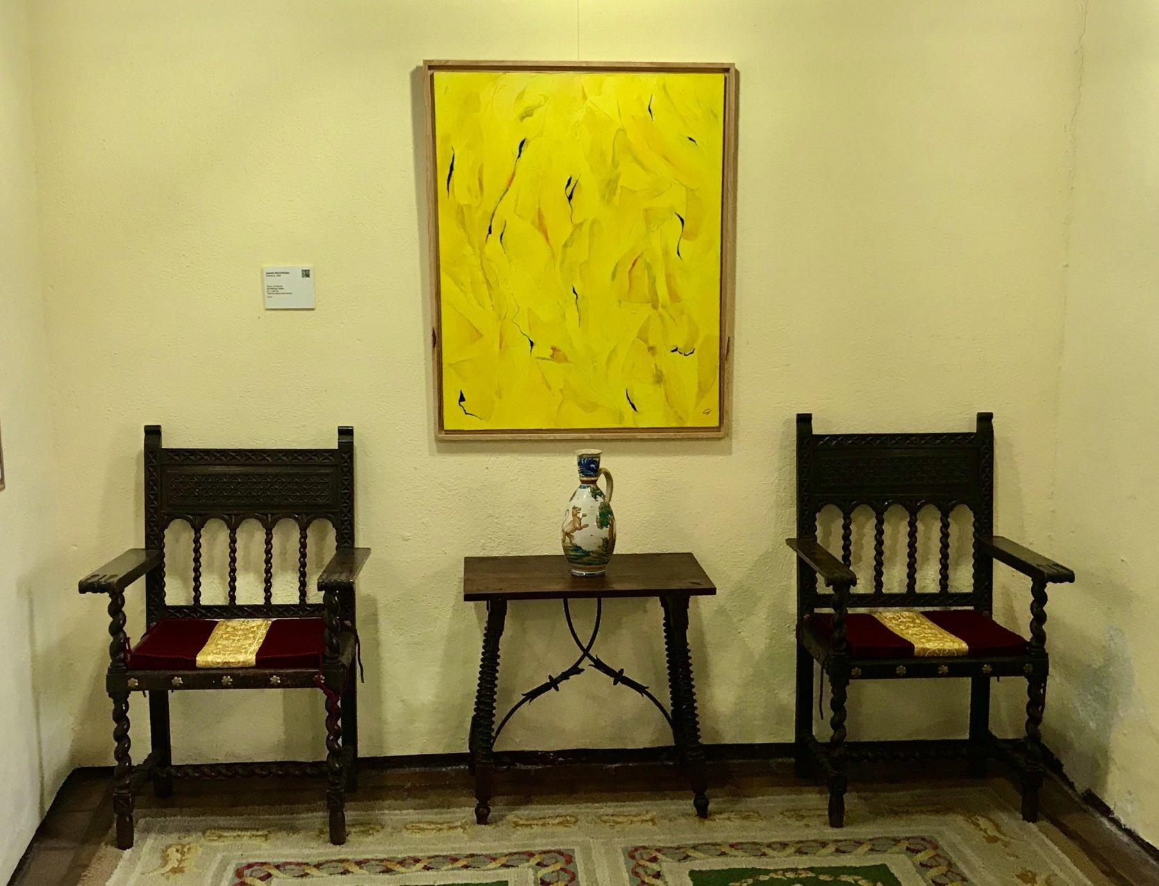 """""""Un-füllung Yellow"""" (2010) - Agustín de Córdoba - Agustín Decórdoba"""