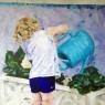 La regadera azul por Idoia Asensio